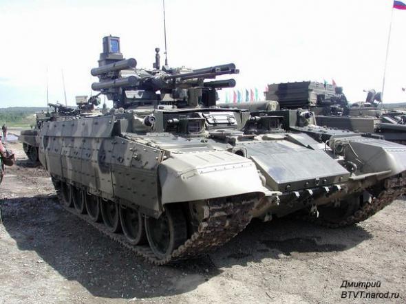 """БМПТ (Боевая машина поддержки танков) """"Рамка 99"""" - Терминатор."""