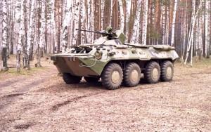 Колесный бронетранспортер БТР-82