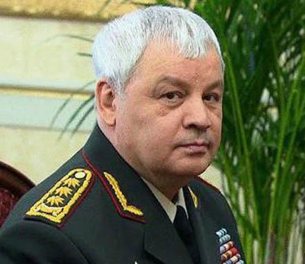 Министр обороны Узбекистана Кабул Бердиев. Источник: fnkaa.ru.