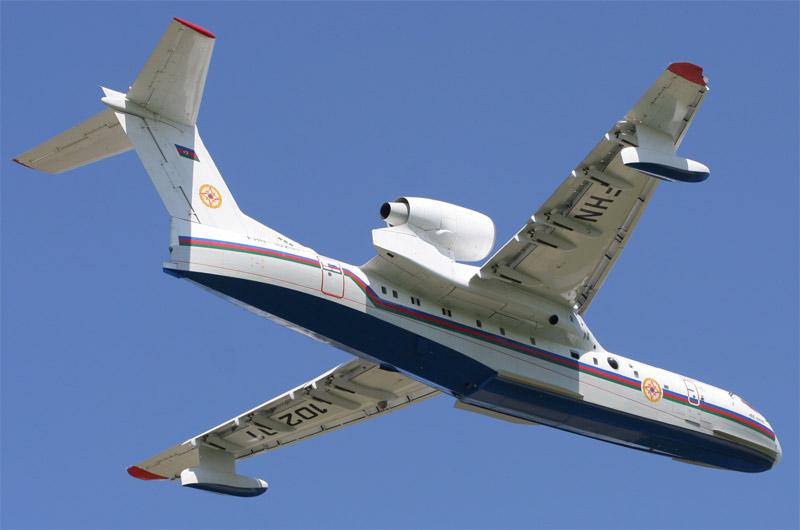 для МЧС России Бе-200ЧС.