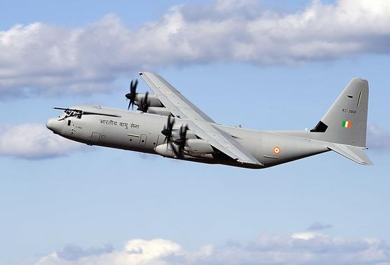 C-130J-30 ВВС Индии. Фото: militaryphotos.net.