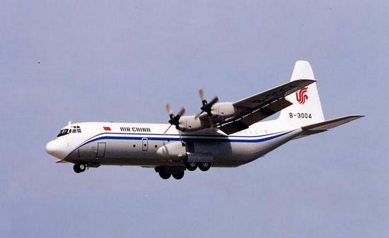 L-1000 (гражданская модель военно-транспортного самолета С-130 Hercules).