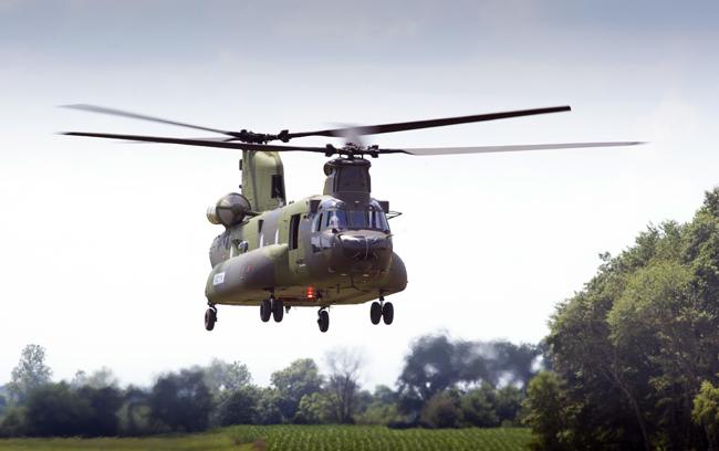 Вертолет CH-147F Chinook для ВС Канады. Фото: www.militaryparitet.com.