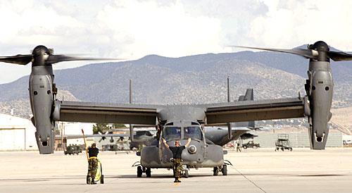 Конвертоплан CV-22 Osprey ВВС США. Источник: Военное обозрение.