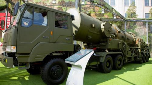 БРСД DF-21A в качестве экспоната Пекинского военного музея.