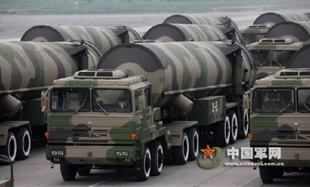 Мобильная МБР DF-31A (Китай).