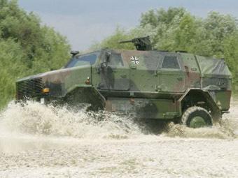 Немецкий бронеавтомобиль Dingo 2