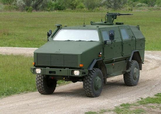 Многоцелевой бронеавтомобиль «Динго» (Германия).