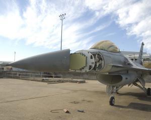F-16 с РЛС SABR