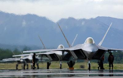 """Американский многоцелевой истребитель пятого поколения Raptor (""""Раптор"""")"""