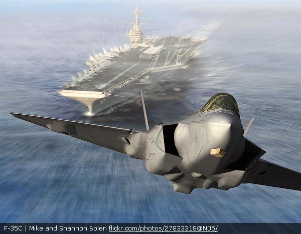 F-35C. Фото: flickr.com .