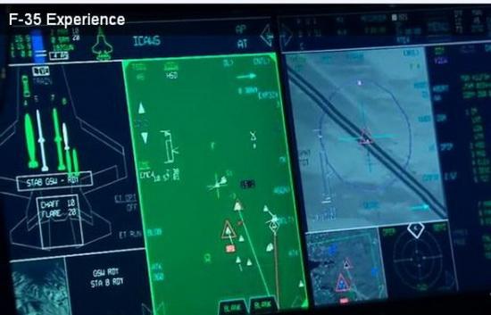 Графика истребителя F-35 c шестью ракетами AMRAAM