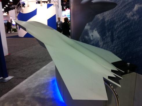 Модель-концепция истребителя шестого поколения