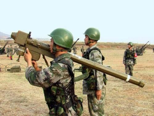 Китайский переносной зенитно-ракетный комплекс FN-6.