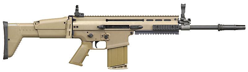 Бельгийская штурмовая винтовка FN SCAR-H.