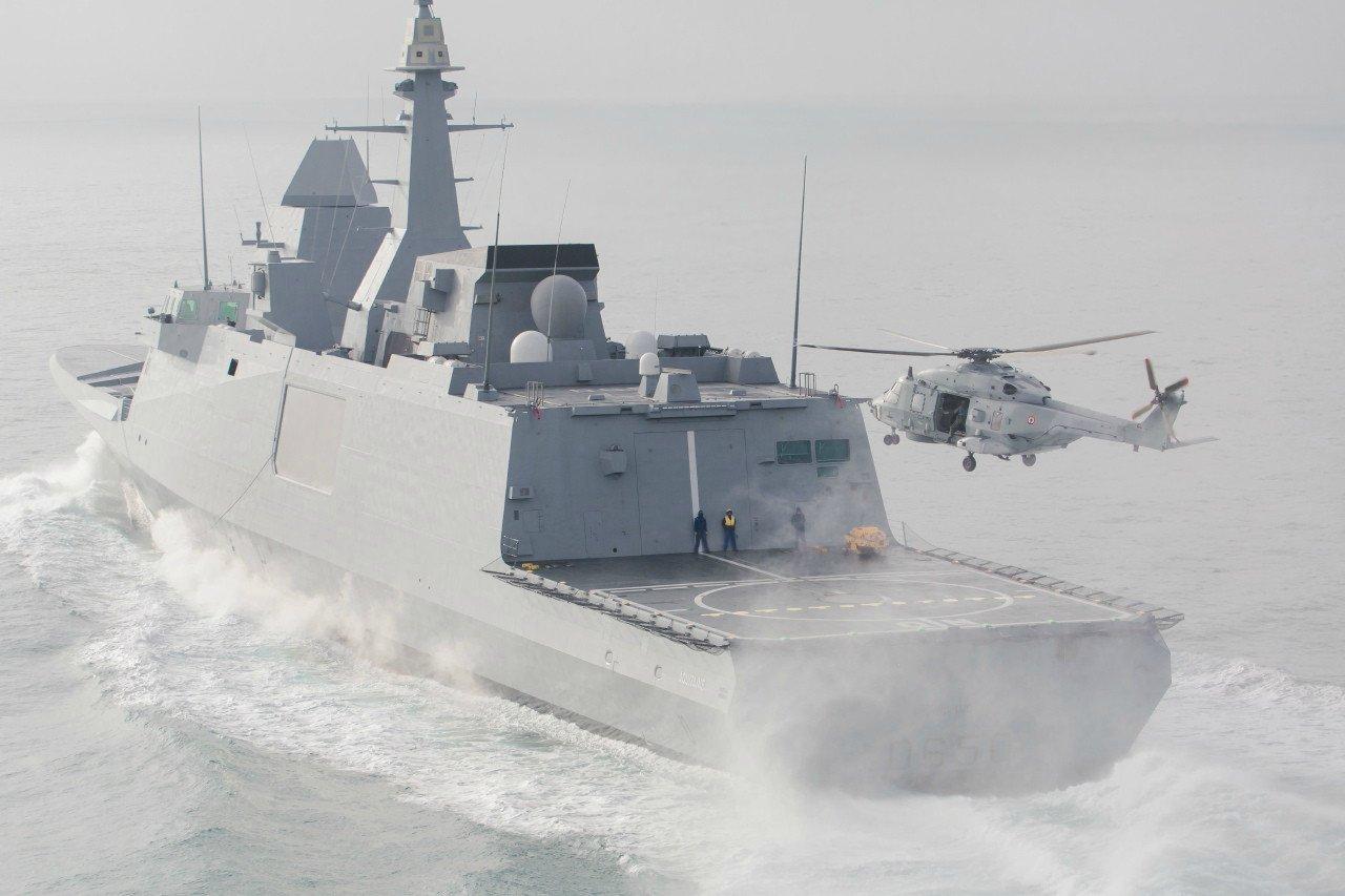 Многоцелевой фрегат класса FREMM. Источник: Военное обозрение.