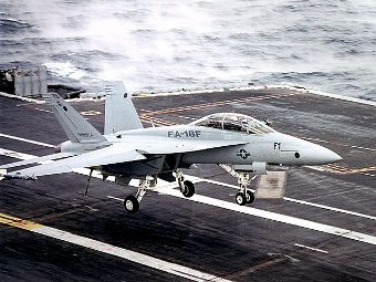 F/A-18E/F Super Hornet. Фото пресс-службы Boeing.
