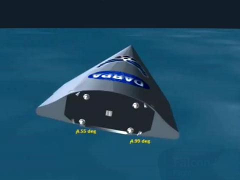 Гиперзвуковой летательный аппарат Falcon HTV-2. Источник: news.404.ru.