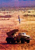 Поражение цели авиабомбой GBU-39 .