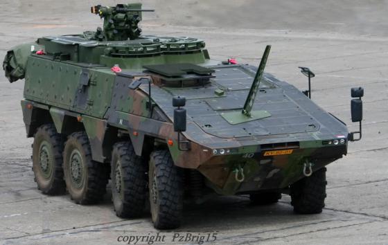 Многоцелевой бронетранспортер Boxer GTK