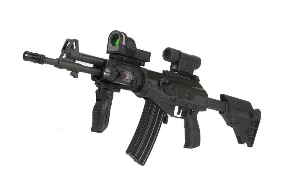 Galil ACE - Версия израильского автомата Galil, разработанная для колумбийских военных. Фото: defence.pk.