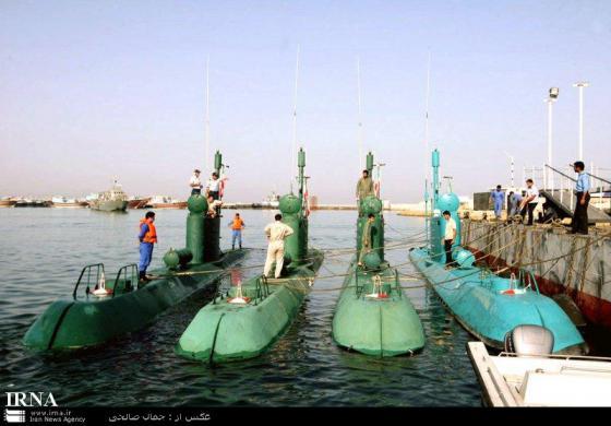 Иранские сверхмалые подводные лодки типа Ghadir