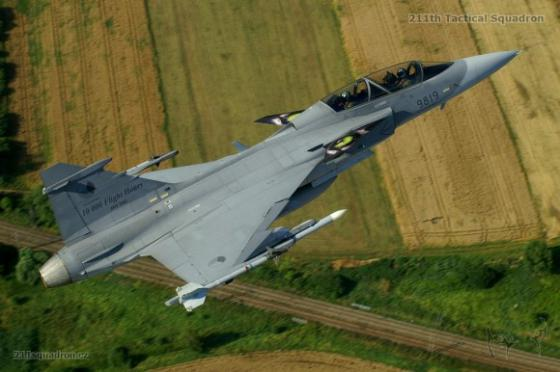 Gripen-Czech-Air-Force