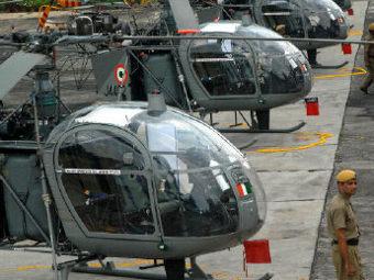 Легкие вертолеты Cheetal корпорации HAL.