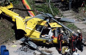 Авария медицинского вертолета.