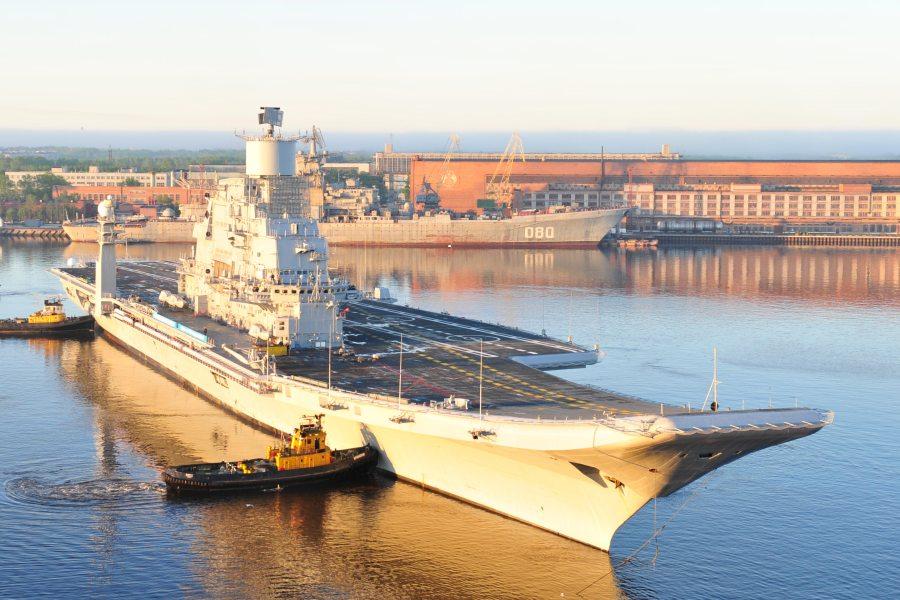 Первый выход в море INS Vikramaditya. Источник: keypublishing.com