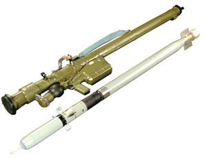 Ракета 9М39 переносного зенитного ракетного комплекса «ИГЛА» 9К38