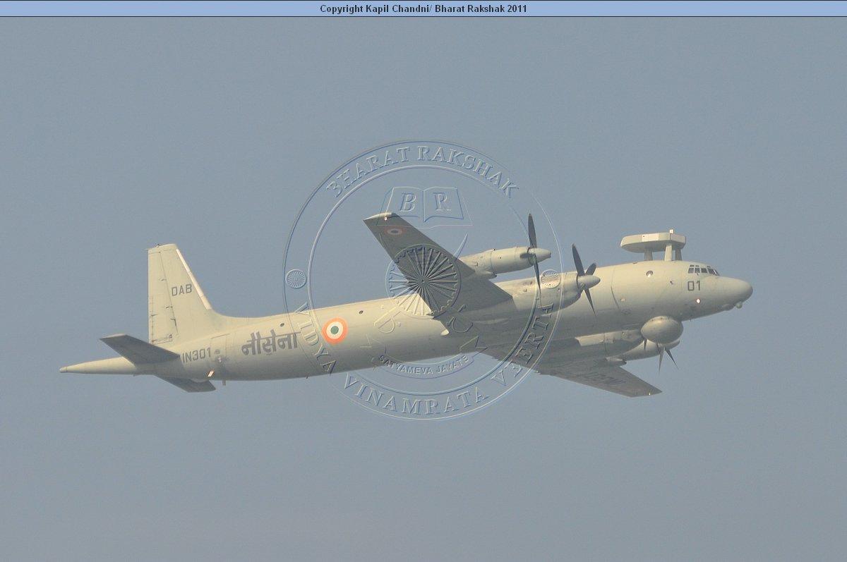 Ил-38SD ВМС Индии. Источник: www.bharat-rakshak.com