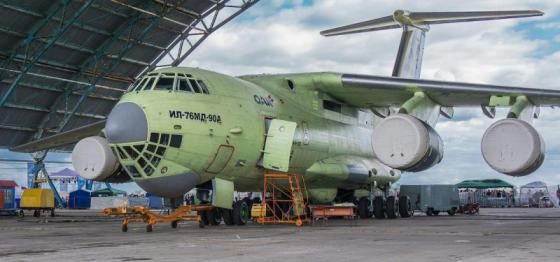 Image result for IL-76MD-90A