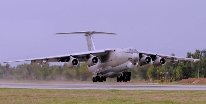 Многоцелевой транспортный самолет/воздушный танкер (Multi-Role Tanker Transport) Ил-78МП.