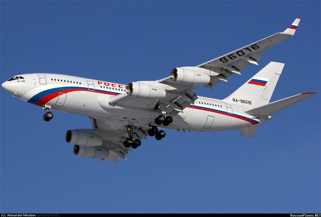 Ил-96-300 RA-96016.