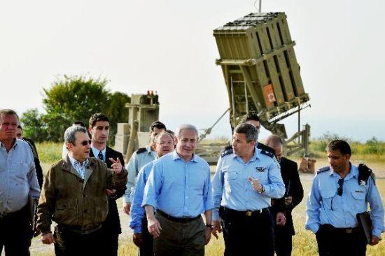 """Израильская система противоракетной обороны """"Железный купол"""" (Iron Dome). Источник: israelmatzav.blogspot.com."""