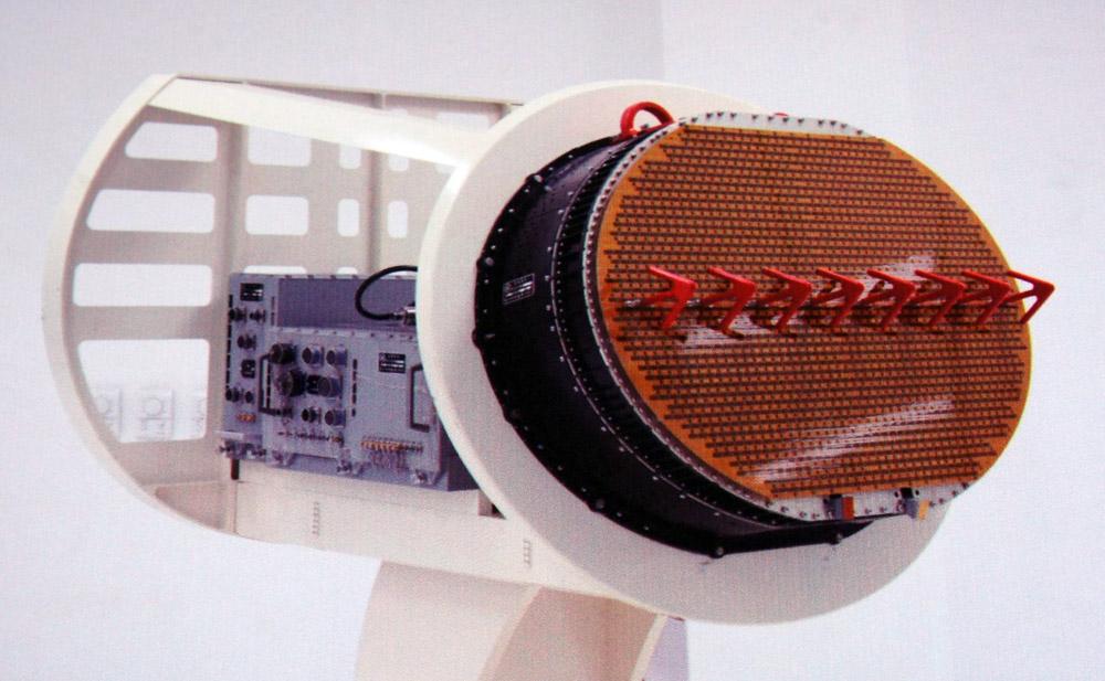 Бортовой радар с АФАР для истребителя J-10B. Источник: china-defense.com.