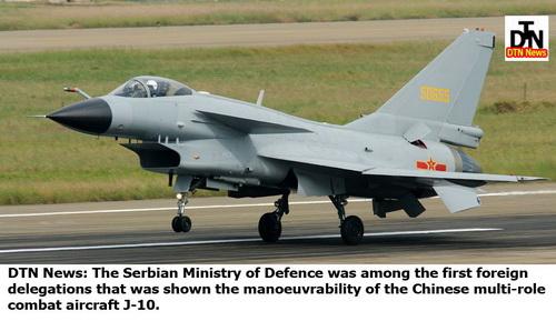 Китайский многоцелевой боевой самолет J-10.