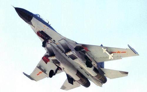 Самолет J-11BS («китаизированный» вариант Су-30). Источник: sukhoi.ru.