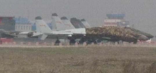 Военно-морской вариант истребителя J-11 (Китай).