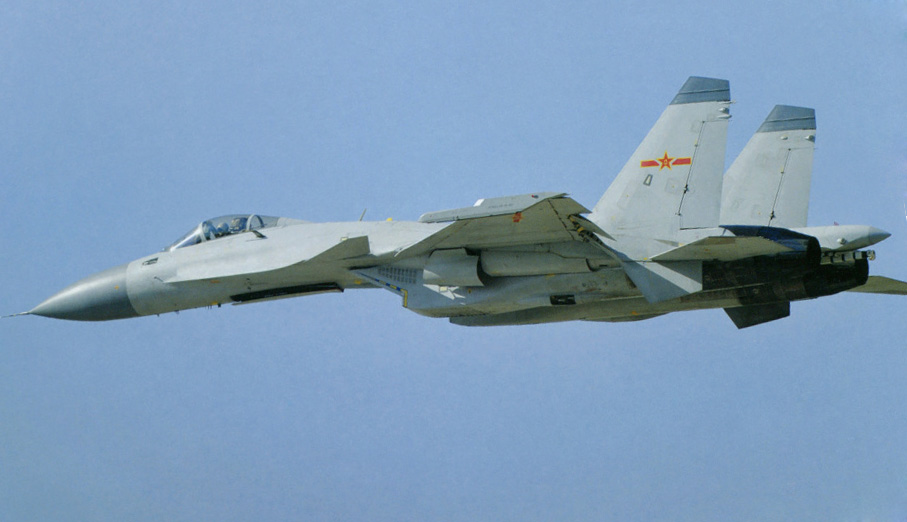 Китайский палубный истребитель J-15 Flying Shark. Источник: China Military Review.