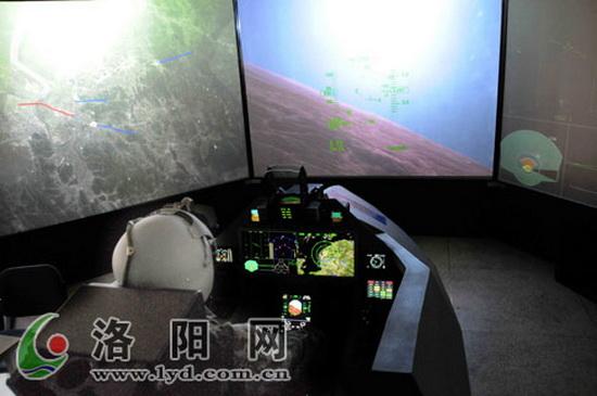 Тренажер, который может быть идентифицирован как относящийся к программе разработки китайского истребителя нового поколения J-XX