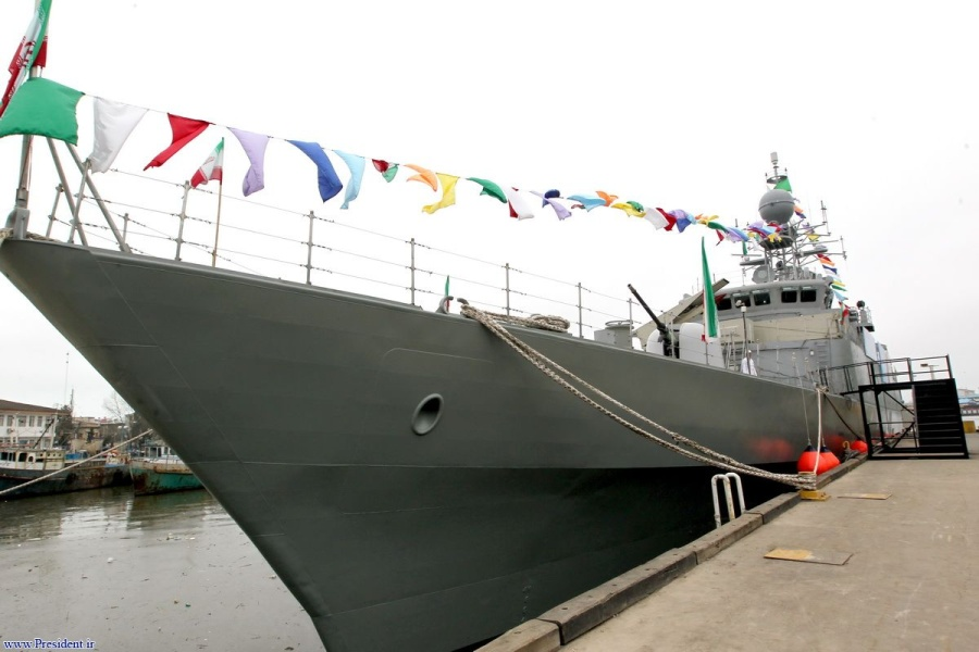 Эсминец Jamaran-2 ВМС Ирана. Источник: www.defence.pk.