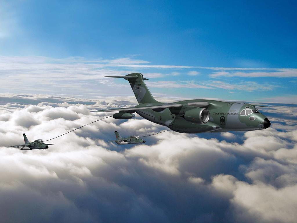 Транспорт-заправщик KC-390. Источник: www.defenceaviation.com.
