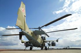 Ударный вертолет Ка-52 .