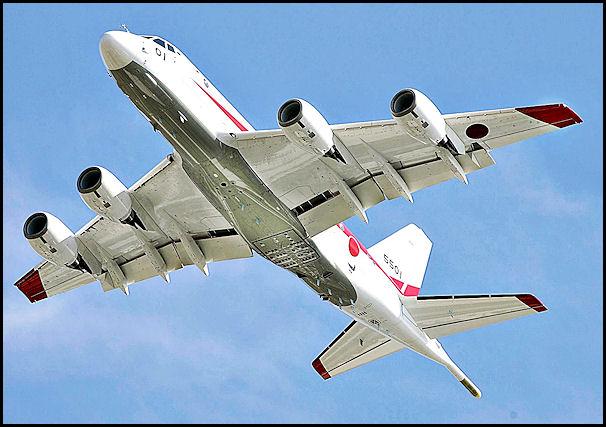 Японский патрульный самолет P-1. Источник: www.jedsite.inf.