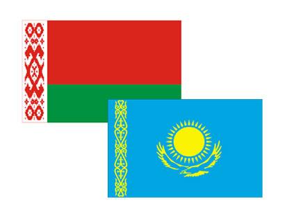 Kazakhstan_Belarus_flags