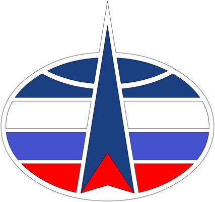 Эмблема Космических войск РФ.