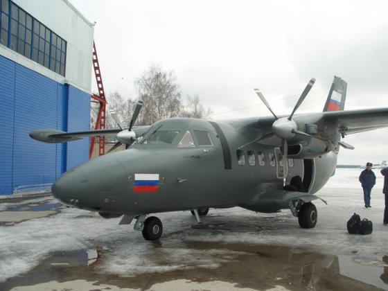 Числа заявок на чешский самолет L-410 пока недостаточно для его ...