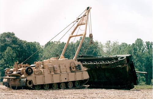 Тяжелая ремонтно-эвакуационная машина M88A2 (HERCULES). Фото: uniteddefense.com.
